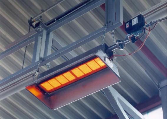 Industrial Gas Heater | M Model