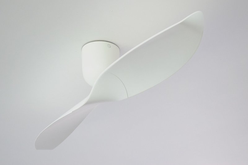 AERATRON AE2 60 WHITE - Modern Flush Mount Ceiling Fan