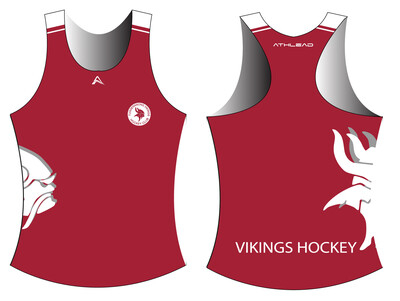 Female indoor singlet