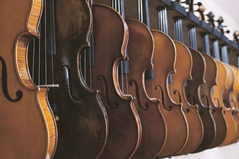 Private violin, viola or cello lessons