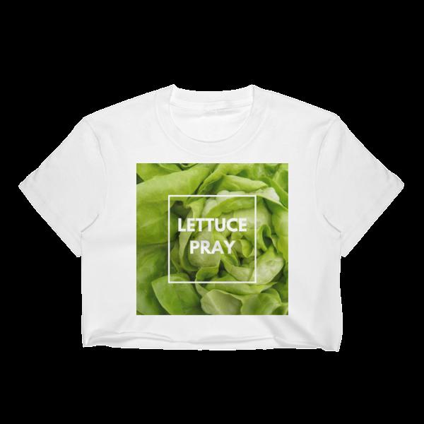 Lettuce Pray Crop Top