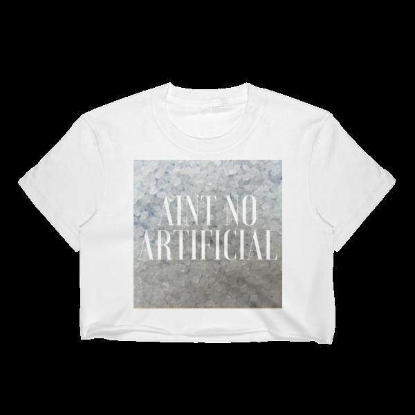 No Artificial Crop Top