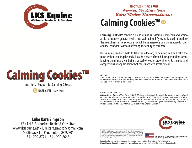 Calming Cookies