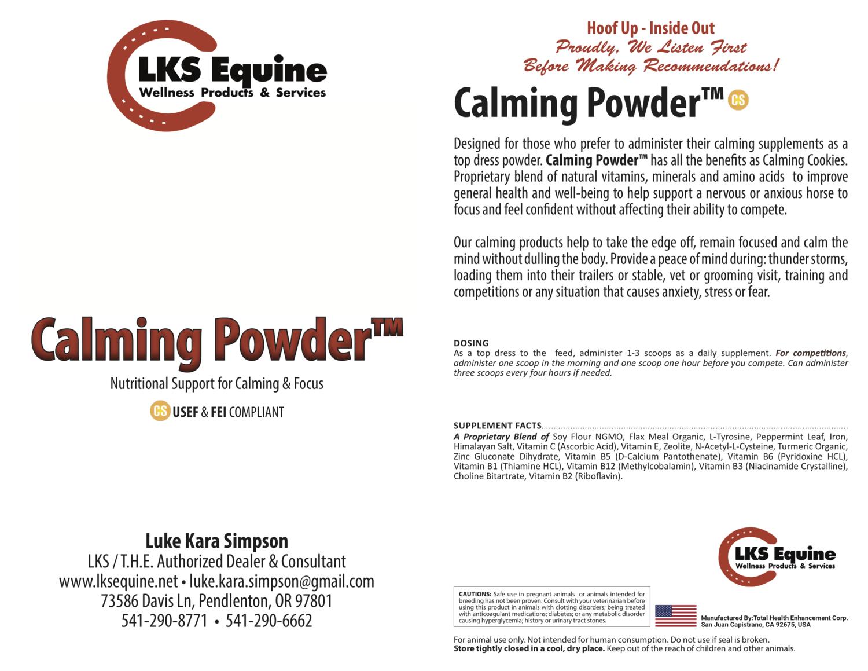 Calming Powder