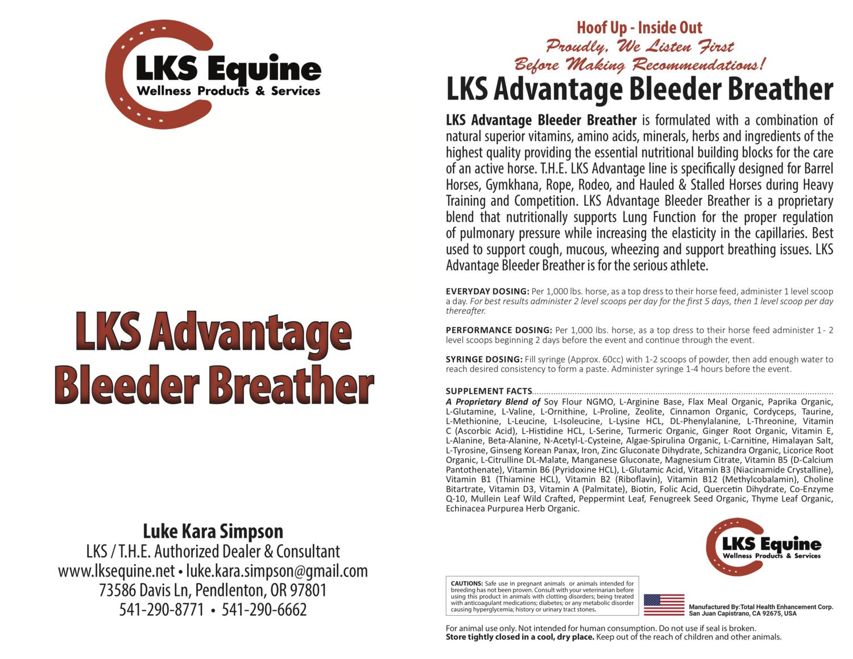 LKS Advantage Bleeder Breather