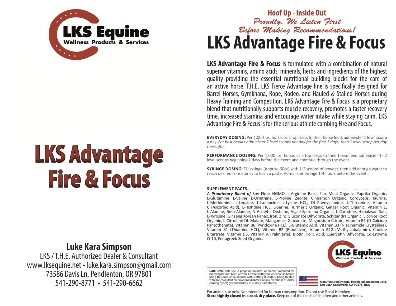 LKS Advantage Fire & Focus