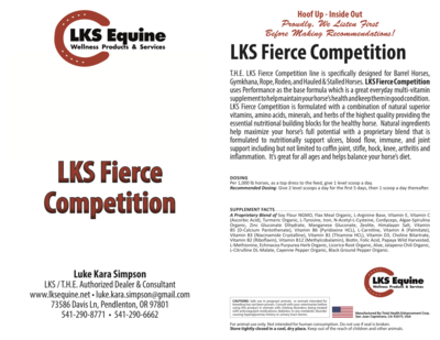 LKS Fierce Competition-Performance Base