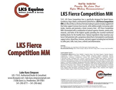 LKS Fierce Competition MM - Muscle Mass Base