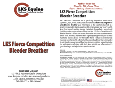 LKS Fierce Competition with Bleeder Breather - Performance Base
