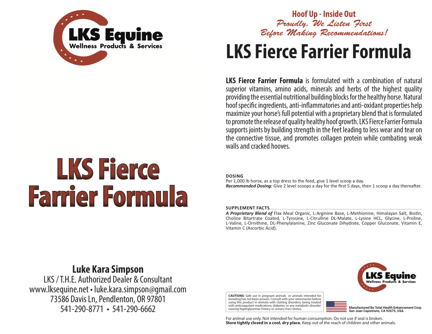 LKS Fierce Farrier Formula