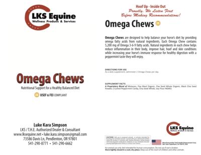 60 Omega Chews