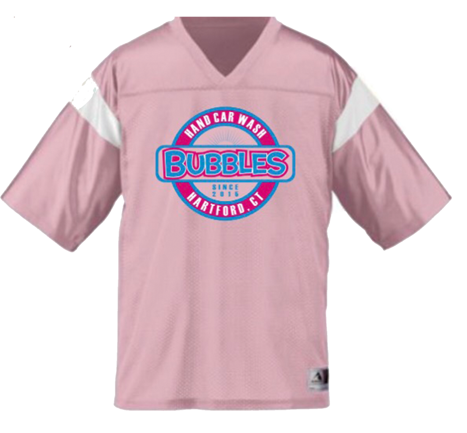 Pink Jersey Bubbles T
