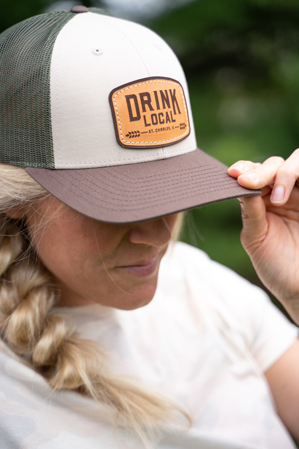 Project Drink Local Hat - Tan/Loden/Brown