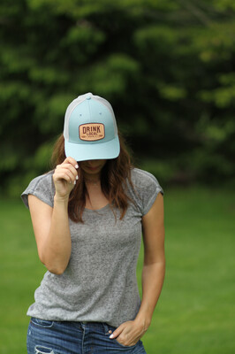 Project Drink Local Hat - Smoke Blue/Aluminum