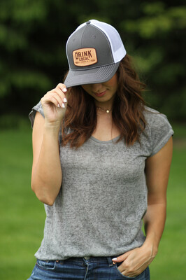 Project Drink Local Hat - Charcoal/White