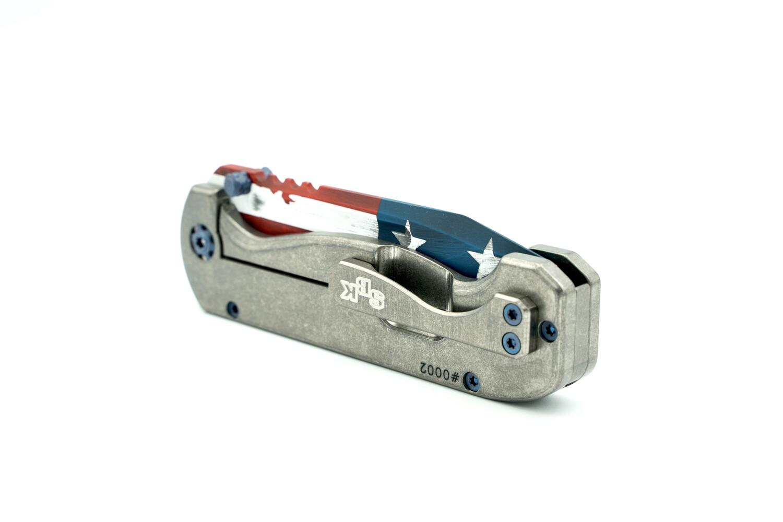 SBK Freedom Rhino Frame Lock Folder #0002