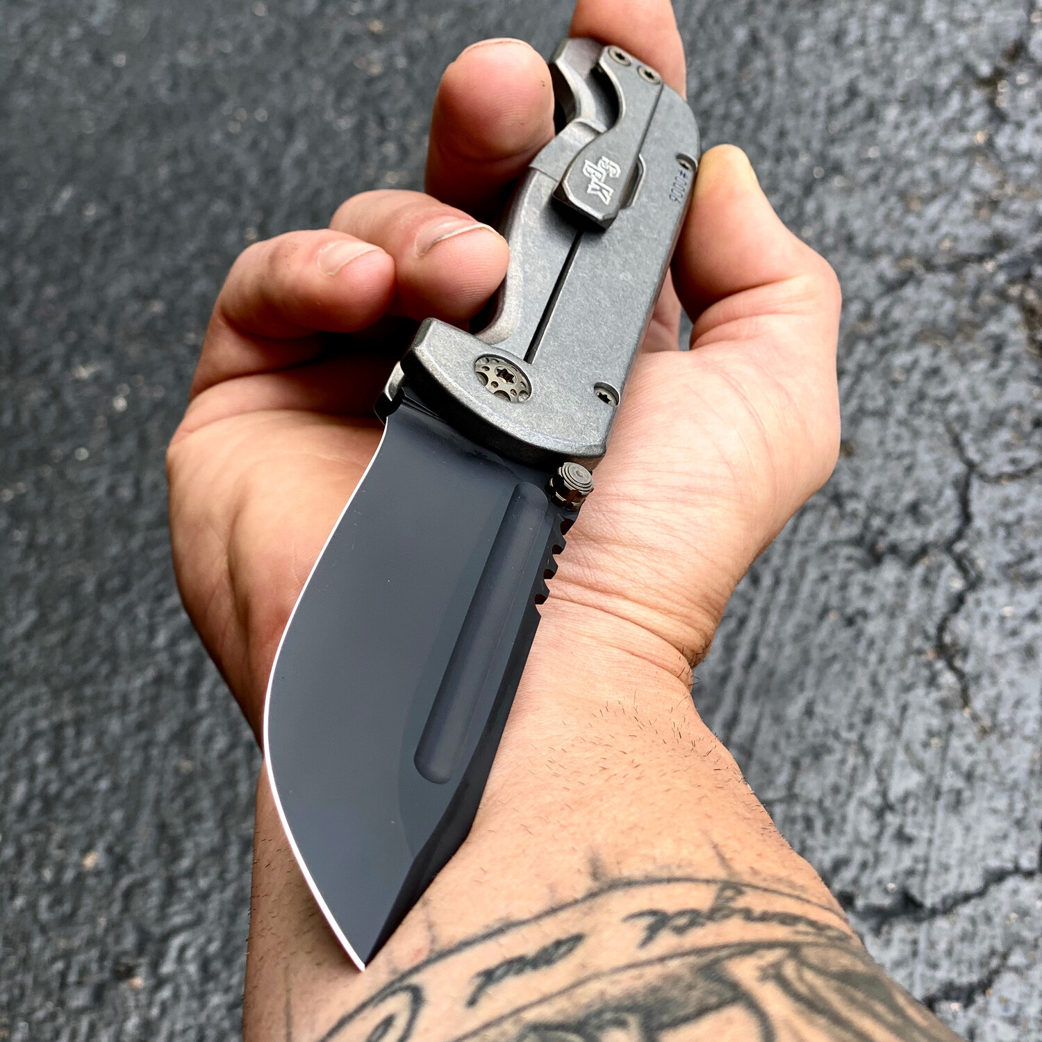 SBK Rhino Frame Lock Folder - One Color Cerakote **Build Deposit**