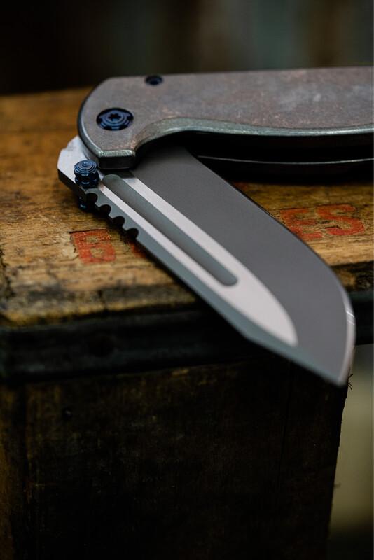 SBK Rhino Frame Lock Folder - Two Tone Edition **Build Deposit**
