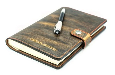 """Leather Journal 6x8.5"""""""
