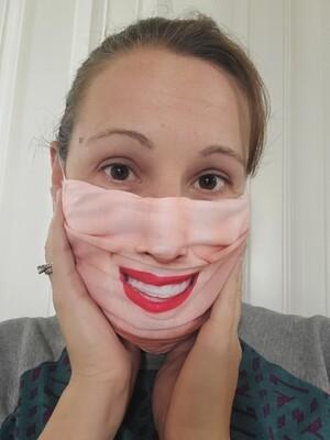 Radiant Smile Adult face mask