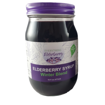 Elderberry Syrup Winter Blend