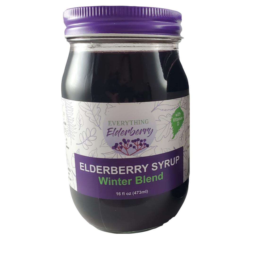 Elderberry Syrup Winter Blend
