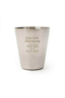 Serving Cup - stainless steel