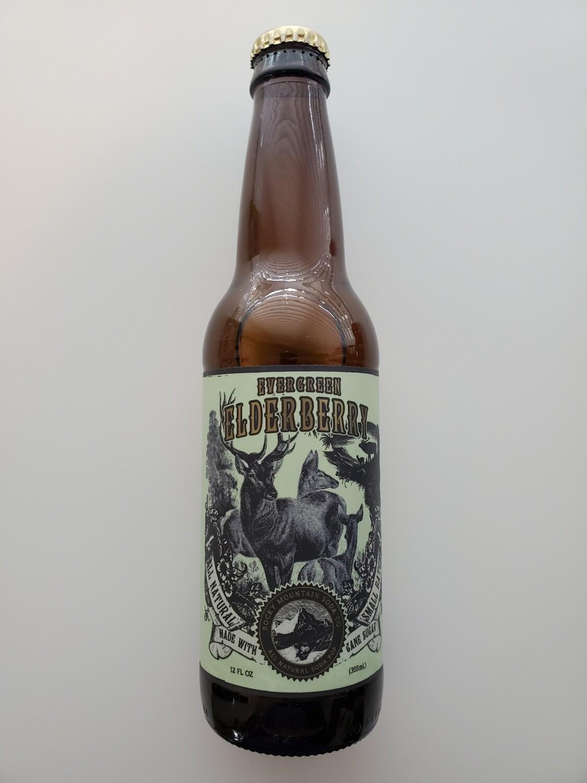 Evergreen Elderberry Soda