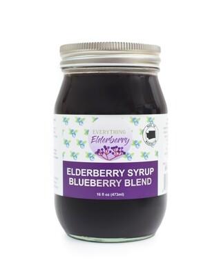 Elderberry Blueberry Syrup