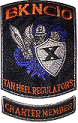 Blue Knights NC 10 Chapter Patch