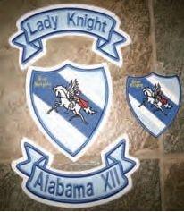 Lady Knights Patch Set