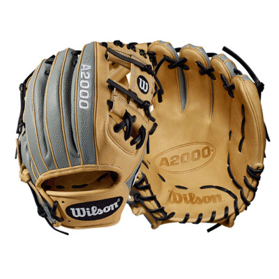 """Wilson A2000 Baseball Glove - 11.25"""" - Super Skin"""