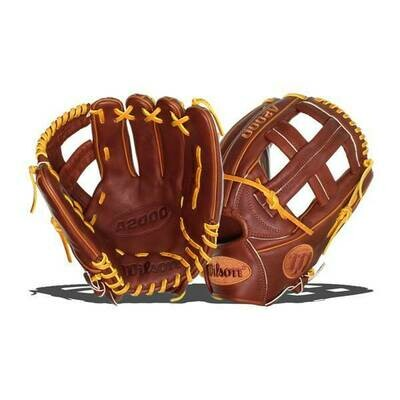 "Wilson A2000 Baseball Glove - 11.75""- Pedroia Fit"