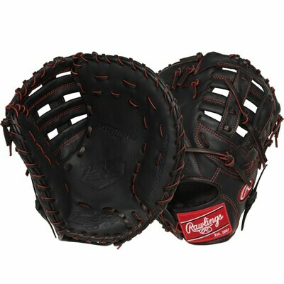 "RAWLINGS R9 SERIES YOUTH PRO TAPER BASEBALL FIRST BASE MITT 12"" RHT"