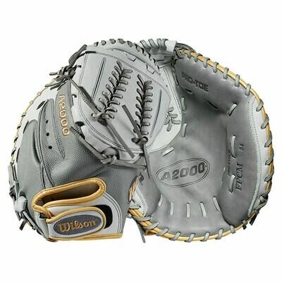 Wilson A2000 SuperSkin  Fastpitch Softball Catcher's Mitt 34