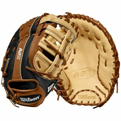 Wilson A2K SuperSkin First Base Mitt 12.25