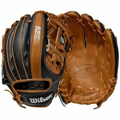 """Wilson A2K SuperSkin Baseball Glove 11.5"""" RHT"""