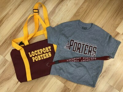 LTHS Gym Bag - Porter Bundle