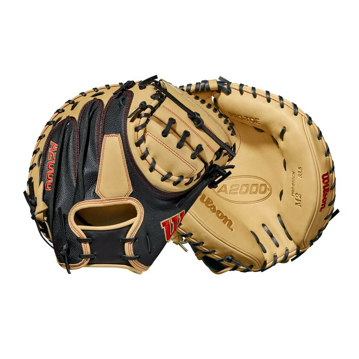 "Wilson 2021 A2000 Super Skin Series M2SS Catchers Mitt 33.5"" RHT"