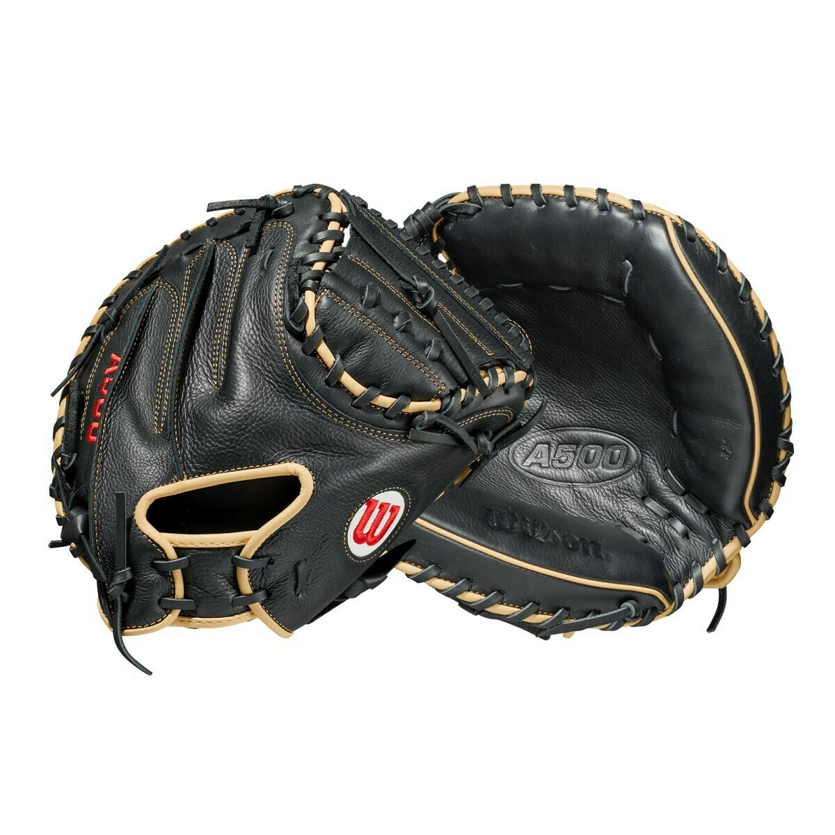 "Wilson 2021 A500 32"" Catchers Mitt RHT"
