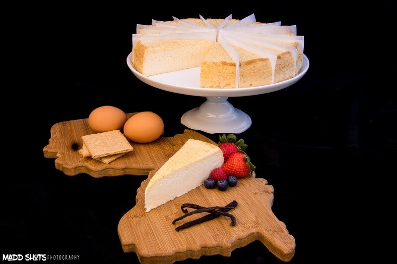 4 lb Vanilla CheeseCake precut 16