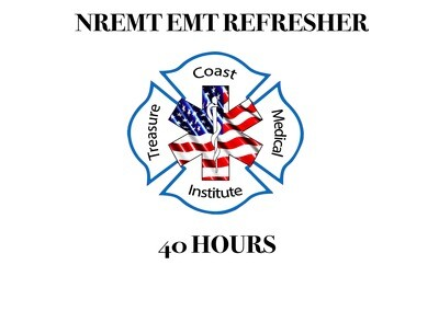 NREMT EMT Refresher (non-refundable) (currently NREMT certified and need continuing education)