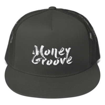 Money Groove 3D Signature Mesh Back Snapback