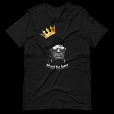 All Hail Black On Black Short-Sleeve Unisex T-Shirt