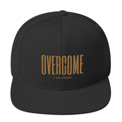 Overcome Snapback Hat