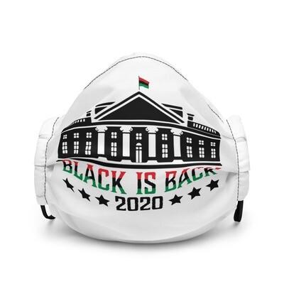 Black is Back Premium face mask