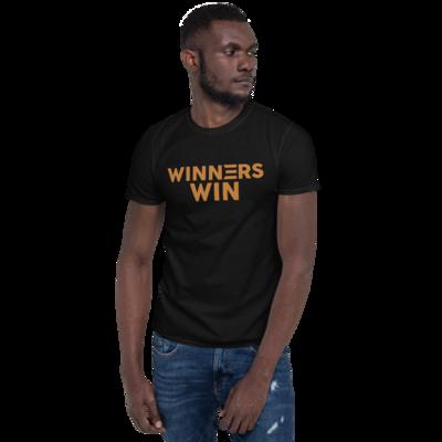 Winners Win Gold Short-Sleeve Unisex T-Shirt