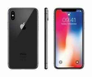 Apple - iPhone X - 64 Go - noir