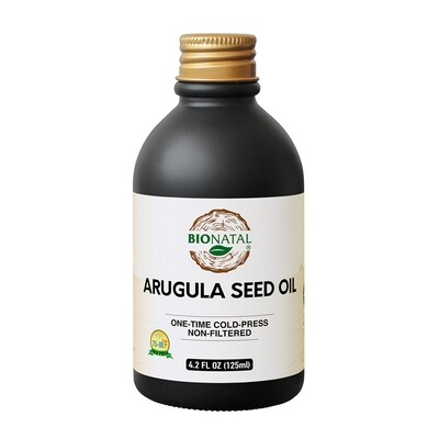 Egyptian desert Wide Leaf Arugula Seed Oil 4.2oz (GLASS)
