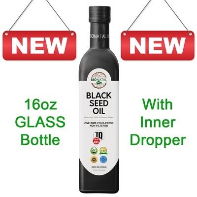 PRE-ORDER Ethiopian Black Seed Oil 16oz (GLASS)